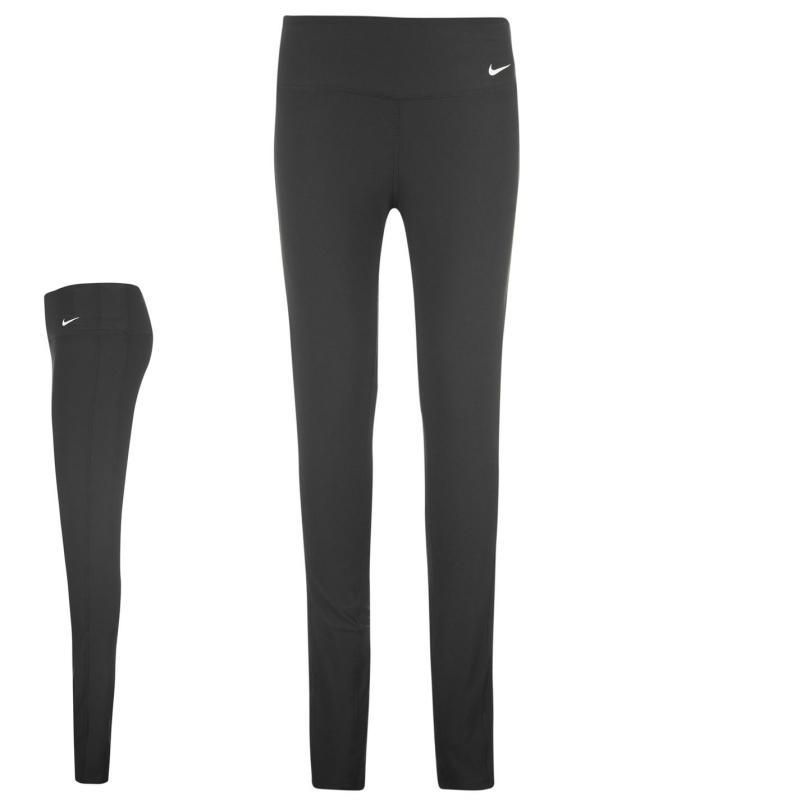 Tepláky Nike Tight Polyester Pants Ladies Black