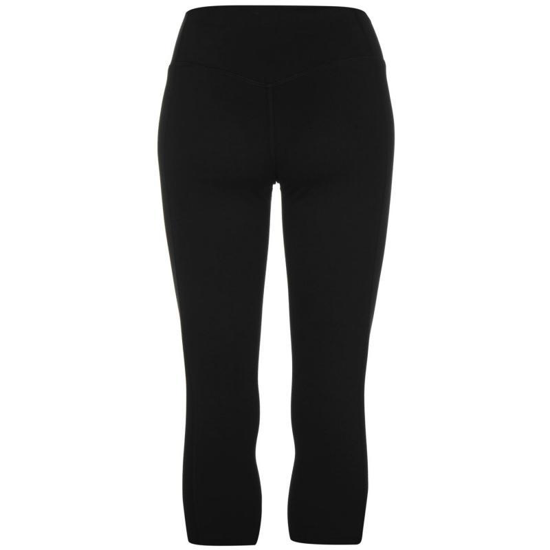 Nike Tight Cotton Capri Pants Ladies Black