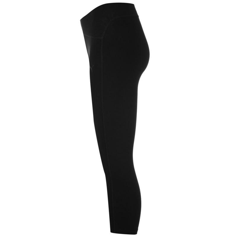 Puma Essentials Studio Capri Pants Ladies Black