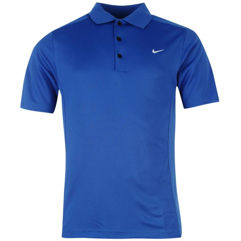 Nike Solid Polo Mens Black