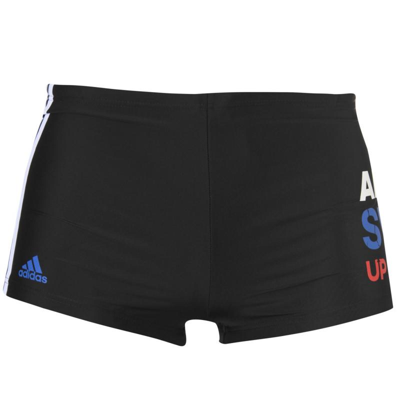 Plavky Slazenger Swim Shorts Mens Black