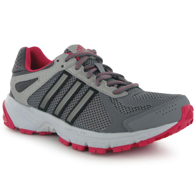 Boty adidas Duramo 5 Ladies Trail Running Shoes Black/Fuchsia, Velikost: UK4 (euro 37)