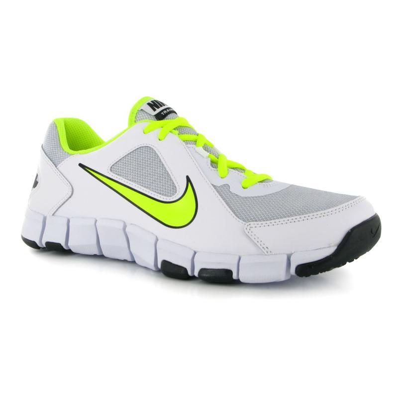 Boty Nike Flex Show Mens Trainers White/Volt, Velikost: UK10 (euro 44)
