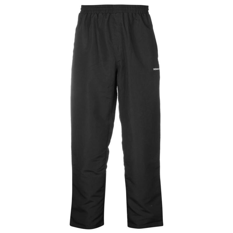 Donnay Open Hem Woven Pants Mens Black