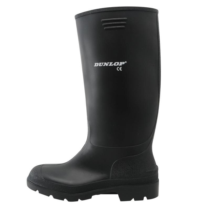 Boty Dunlop Mens Wellingtons Black, Velikost: 12 (M)