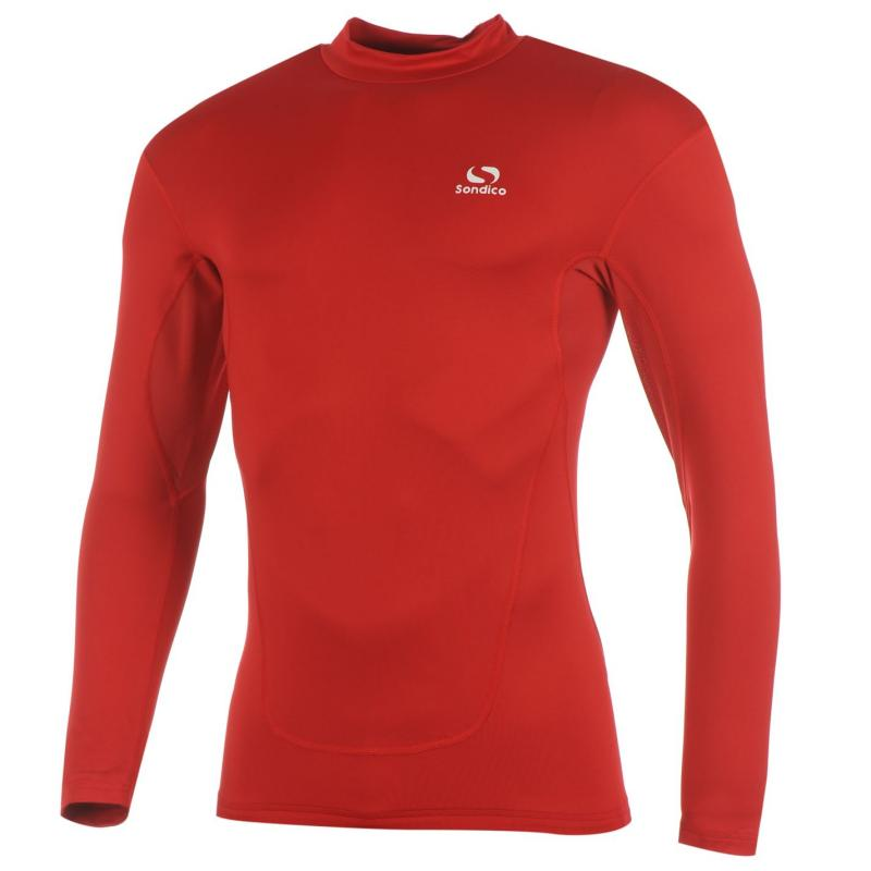 Sondico Base Layer Top Mens Red