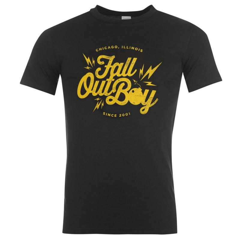 Tričko Official Fall Out Boy T Shirt Retro