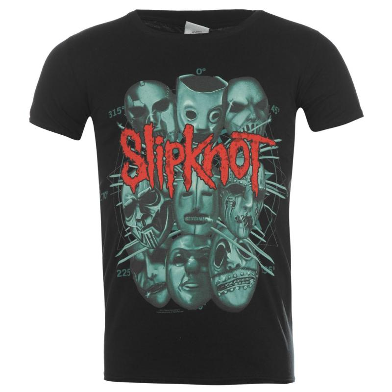 Tričko Official Slipknot T Shirt Rusty Face