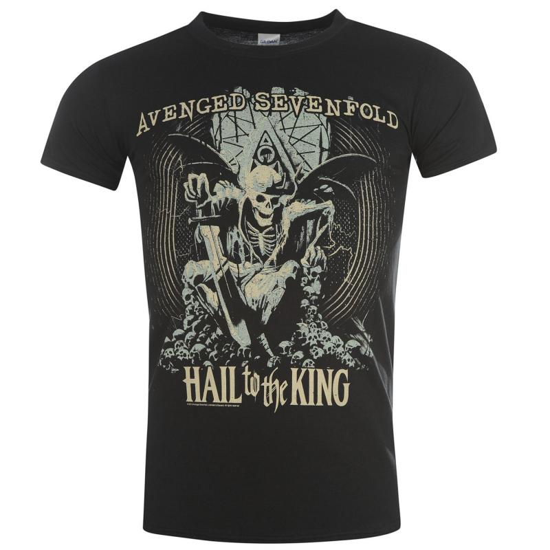 Tričko Official Avenged Sevenfold (A7X) T Shirt Seize The Day
