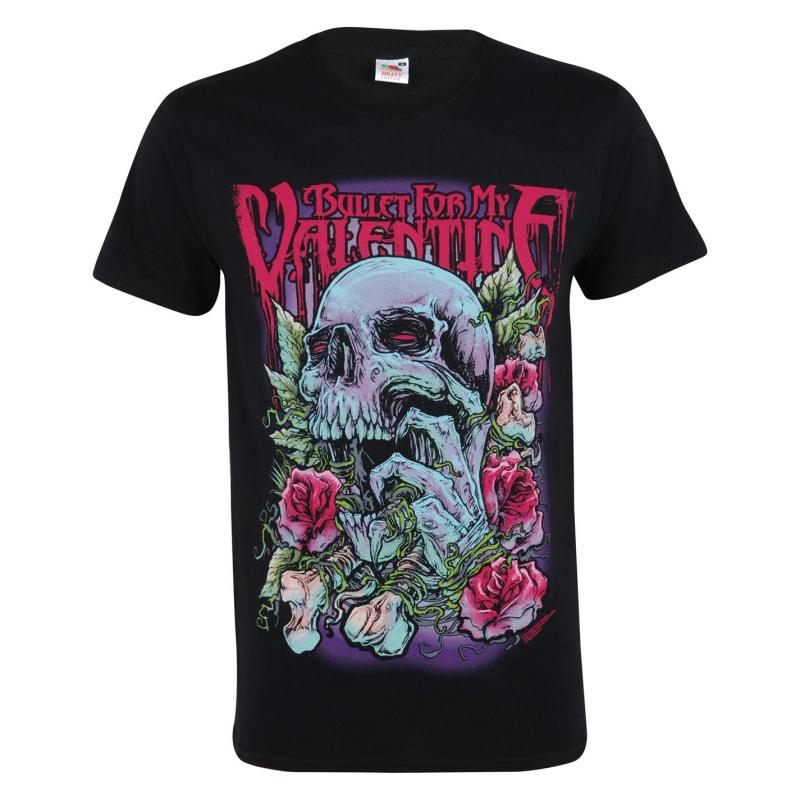 Tričko Official Bullet for My Valentine T Shirt Serpent Rose