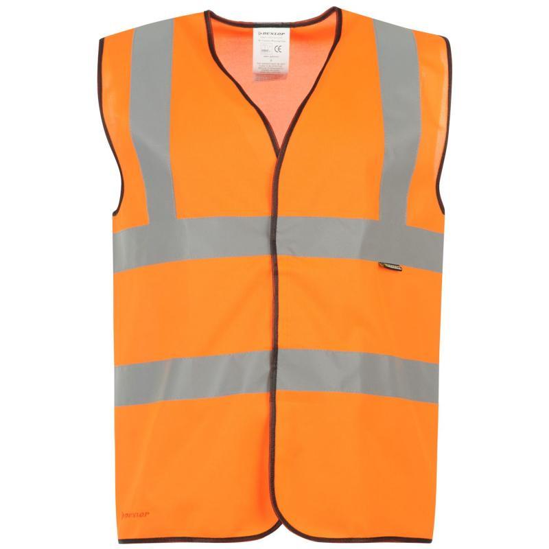 Tílko Dunlop Hi Vis Vest Orange