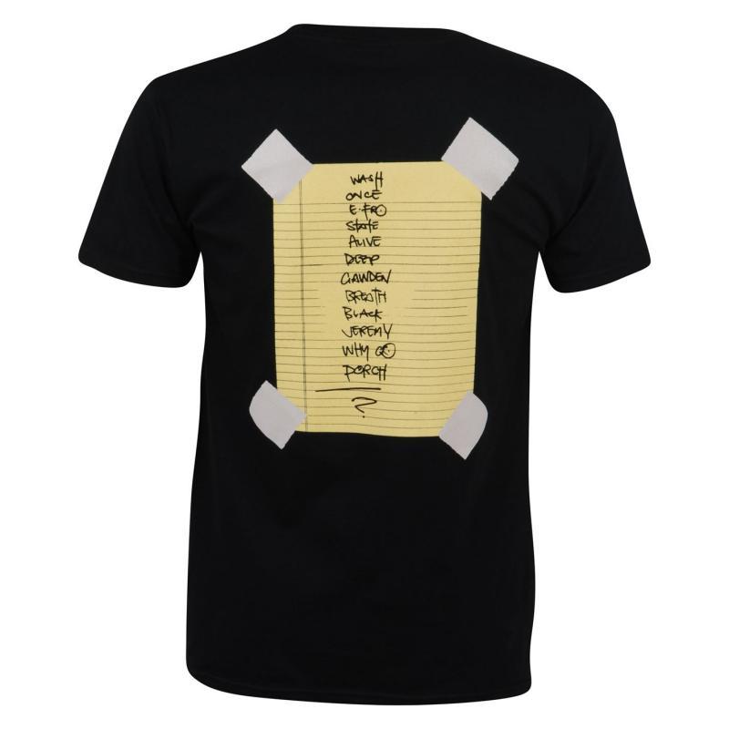 Tričko Official Pearl Jam T Shirt Stick Man