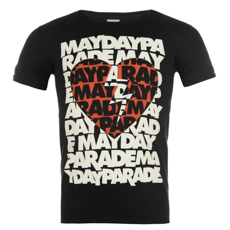 Tričko Official Mayday Parade T Shirt Heart
