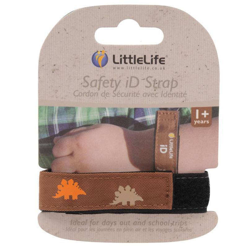 LittleLife Safe ID Strap Dinosaur