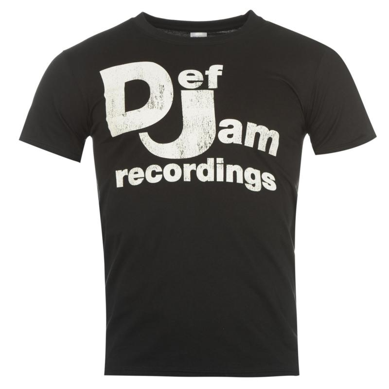Official Def Jam T Shirt Mens Def Jam