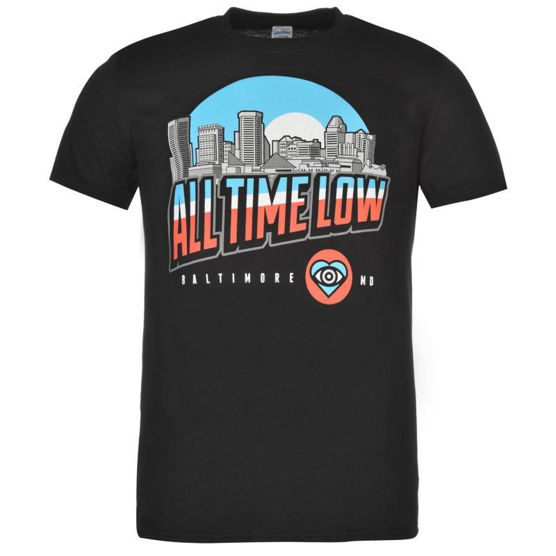 Tričko Official All Time Low T Shirt Mens Big And Broken