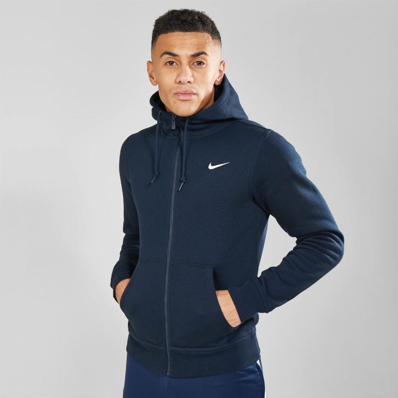 Mikina Nike Fundamentals Full Zip Hoody Mens Navy