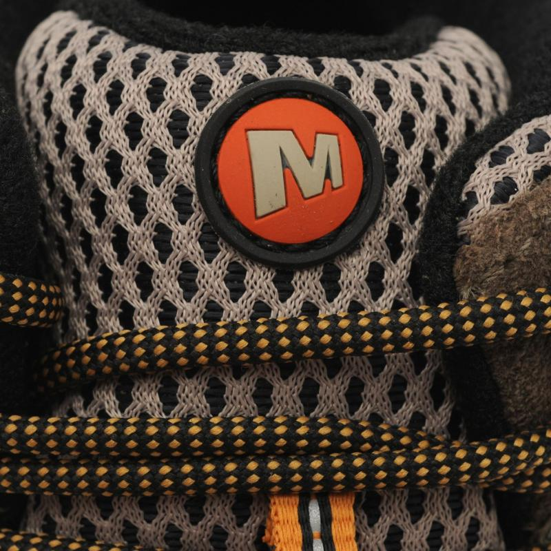Boty Merrell Moab Mid GTX Mens Walking Boots Walnut, Velikost: UK11 (euro 46)