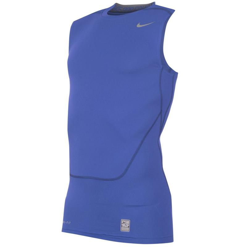 Nike Pro Core Sleeveless T Shirt Mens Royal