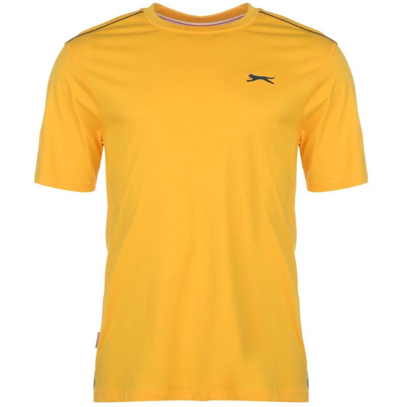 Tričko Slazenger Plain T Shirt Mens Royal Blue