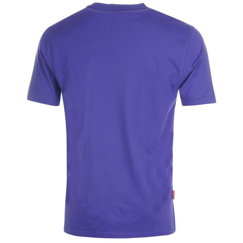 Tričko Slazenger Plain T Shirt Mens White, Velikost: S