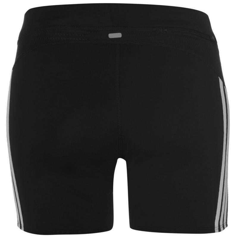 Šortky adidas Response Tight Shorts Ladies Black/White