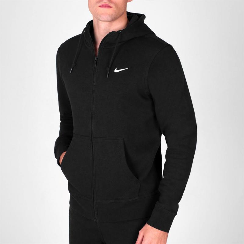 Mikina Nike Fundamentals Full Zip Hoody Mens Black