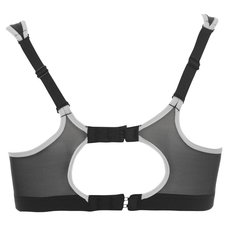 Shock Absorber Sports Bra Ladies Black, Velikost: 60C