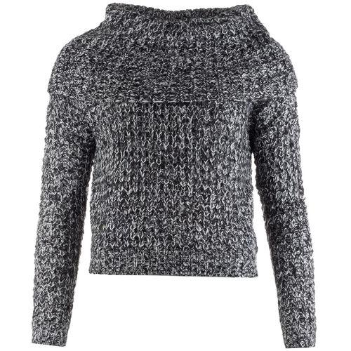 Svetr Vero Moda Womens Dawn Jumper Black-White