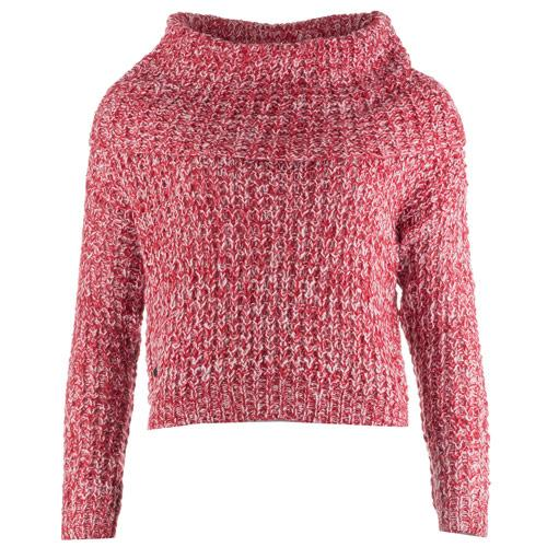 Svetr Vero Moda Womens Dawn Jumper red white