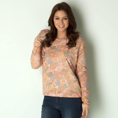Mikina Vero Moda Womens Young Sweatshirt Peach