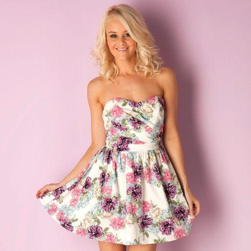 Šaty Womens Floral Dress Multi colour