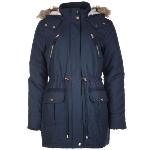 Bunda Vero Moda Womens Leader Short Parka Navy