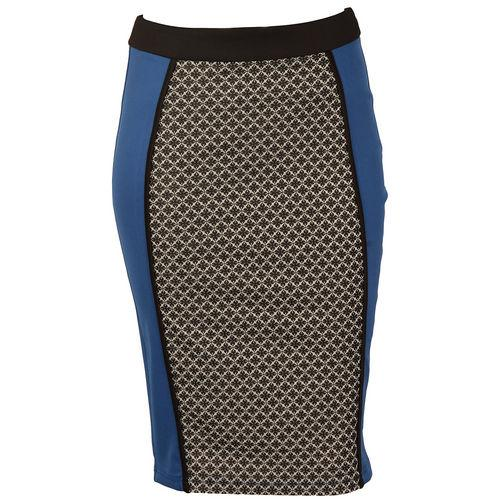 Sukně Little Mistress Womens Tile Print Jacquard Pencil Skirt...