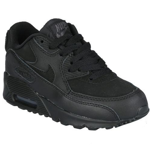 Boty Nike Children Boys Air Max 90 Trainers Black
