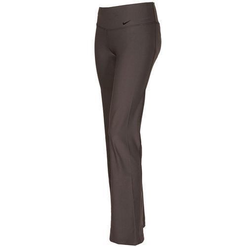 Fitness Nike Womens Legend Slim Poly Pants Grey