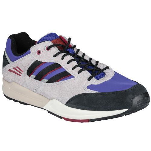 Boty Adidas Originals Mens Tech Super Trainers Black purple