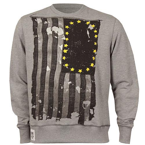 Mikina Savant Mens Stars Sweatshirt Grey Marl
