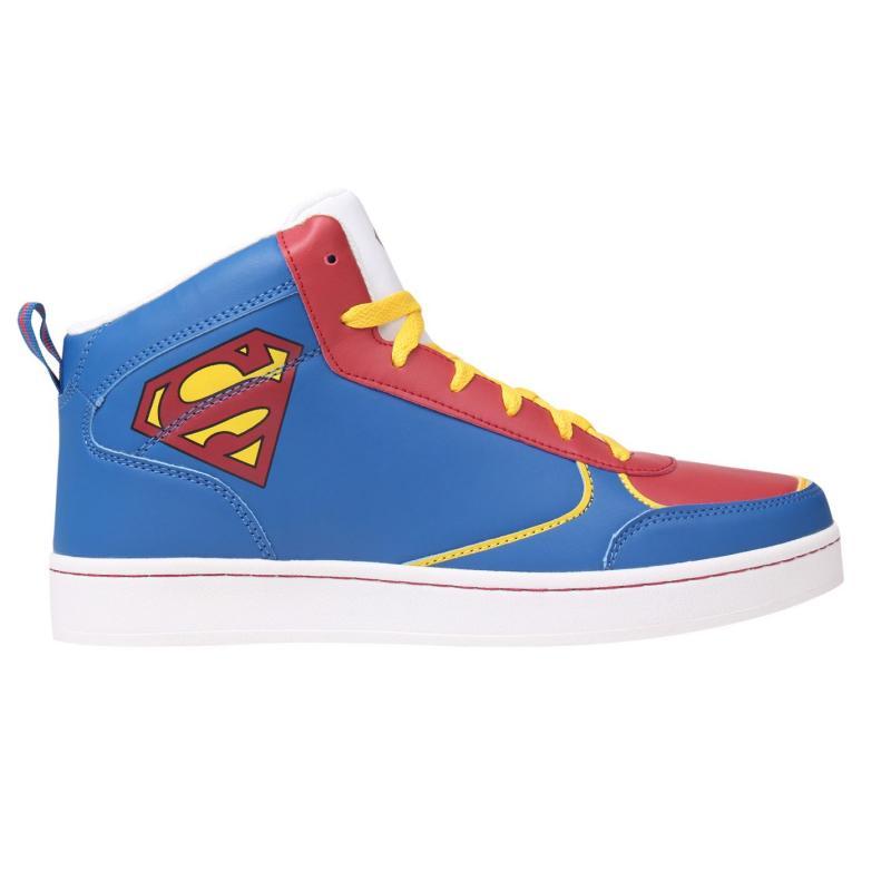Boty DC Comics Superman Hi Top Mens Blue