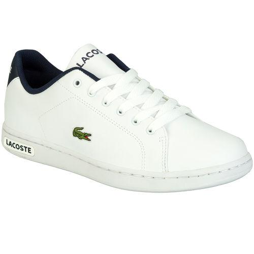 Boty Lacoste Junior Boys Carnaby PTE Trainers White