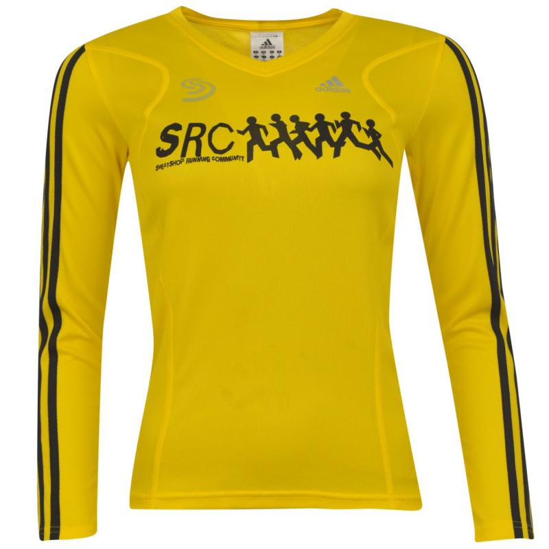 adidas SRC Running Top Ladies Yellow