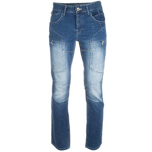 Crosshatch Mens Parksons Jeans Denim