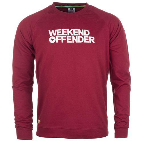 Mikina Weekend Offender Burgundy