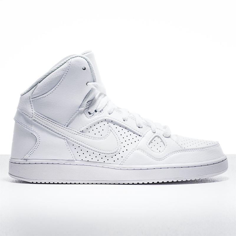 Boty Nike Son of Force Mid Top Mens Trainers White/White