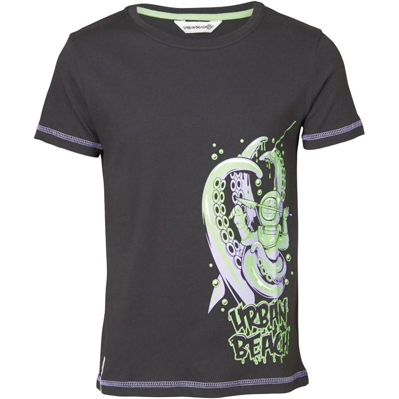 Boty Urban Beach Boys Diver Print T-Shirt Black