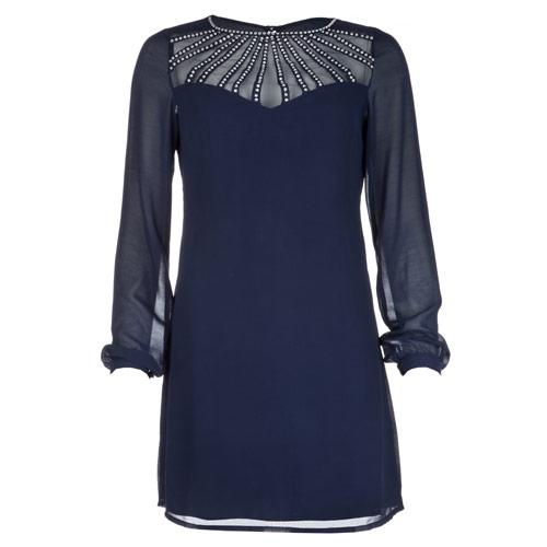 Šaty Womens Shift Dress Navy