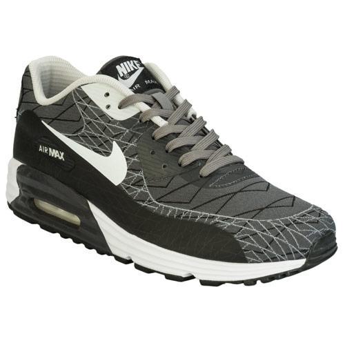 Boty Nike Mens Air Max Lunar 90 Trainers Grey