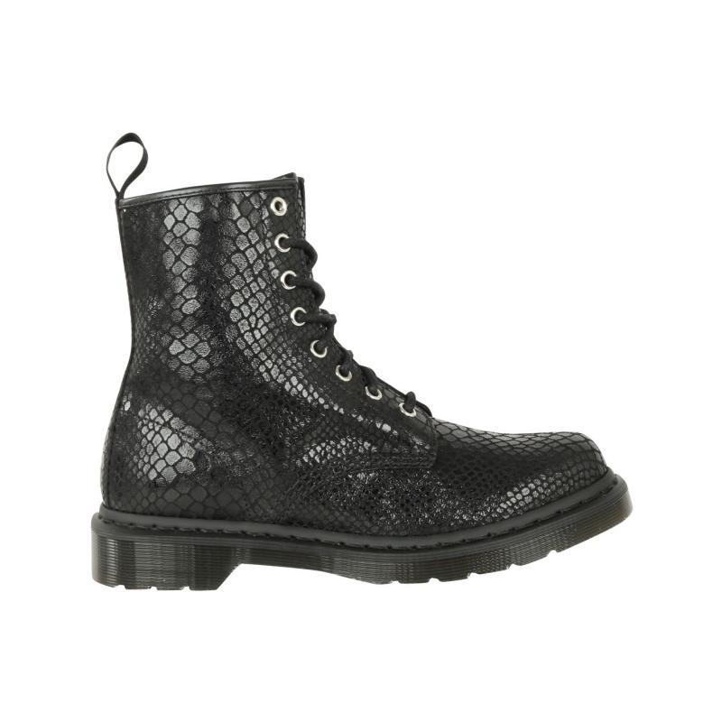Boty Dr Martens 1460 8 Eye Snake Womens Boots Black