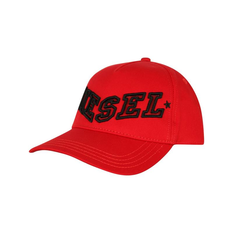 Diesel Caraky Cap Red