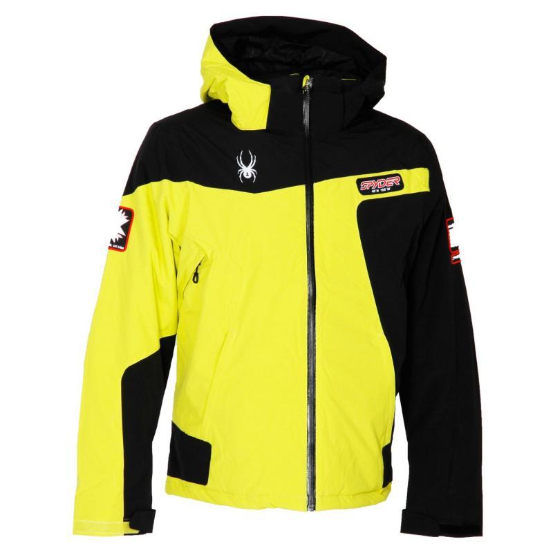 Bunda Spyder Que Tripoint Snr43 Yellow/Black